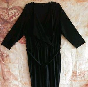 Tiana B womens jumpsuit w/free dress 1x